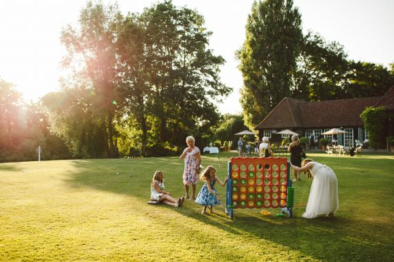 Wedding receptions at Queen's Eyot