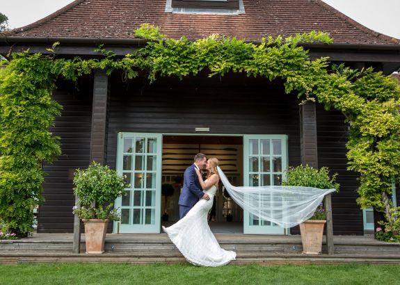 Wedding receptions at Queen's Eyot